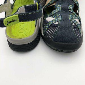 Jambu Shoes - Jambu Eclipse All Terrain Sandals Blue Geometric 8